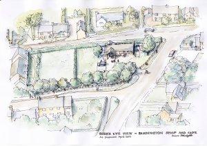 Bird's Eye View - Bledington Community Shop